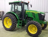 2013 John Deere 6140D 4WD Tractor with Cab