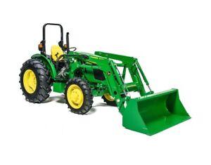 2018 John Deere 5065E Utility Tractor