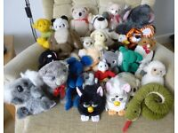 Large collection of Soft/Cuddly Toys/Animals/Bears - some new some hardly used