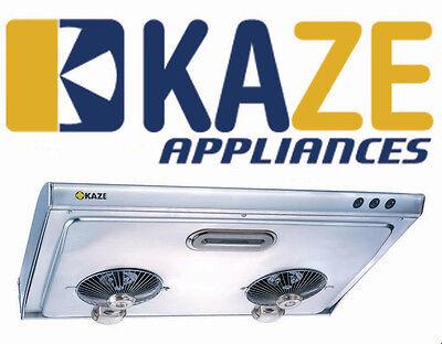 KAZE K202 36-Inch Stainless Steel Slim Under Cabinet Kitchen Range Hood Fan