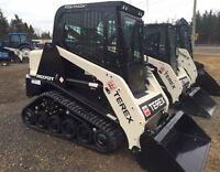 2015 Terex R070T Compact Track Loader with Cab