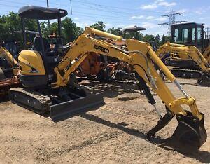 2015 Kobelco SK27 Mini Excavator