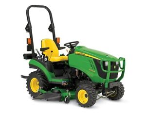 2018 John Deere 1025R Sub-Compact Utility Tractor