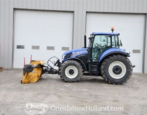 Used New Holland T5.115 w/ 14' Metal Pless Snow pl
