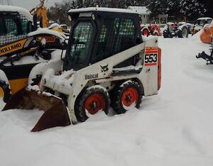 Bobcat 553 Skid Steer