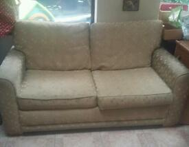 Two seater double sofa bed couch