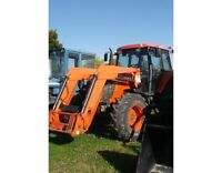 2006 Kubota M125XDTC 4WD Tractor with Cab & Loader