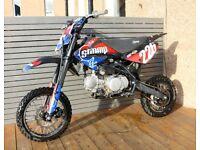 dirty pit bike stomp Z2 140