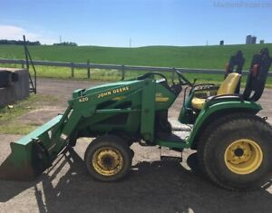 2002 John Deere 4210 Compact Tractor