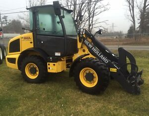 2015 New Holland W50TC Compact Wheel Loader
