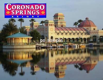 Coronado Springs (Florida - Disney CORONADO SPRINGS - Fridge Magnet)