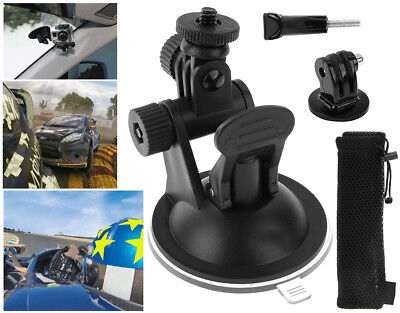 Suction Cup Car Windscreen Mount Holder for GoPro HD Hero 2 3 3+ 4 5 with Bag (Gopro Suction Cup Mount)