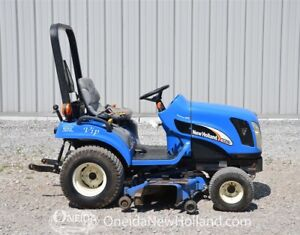 New Holland TZ25DA Tractor