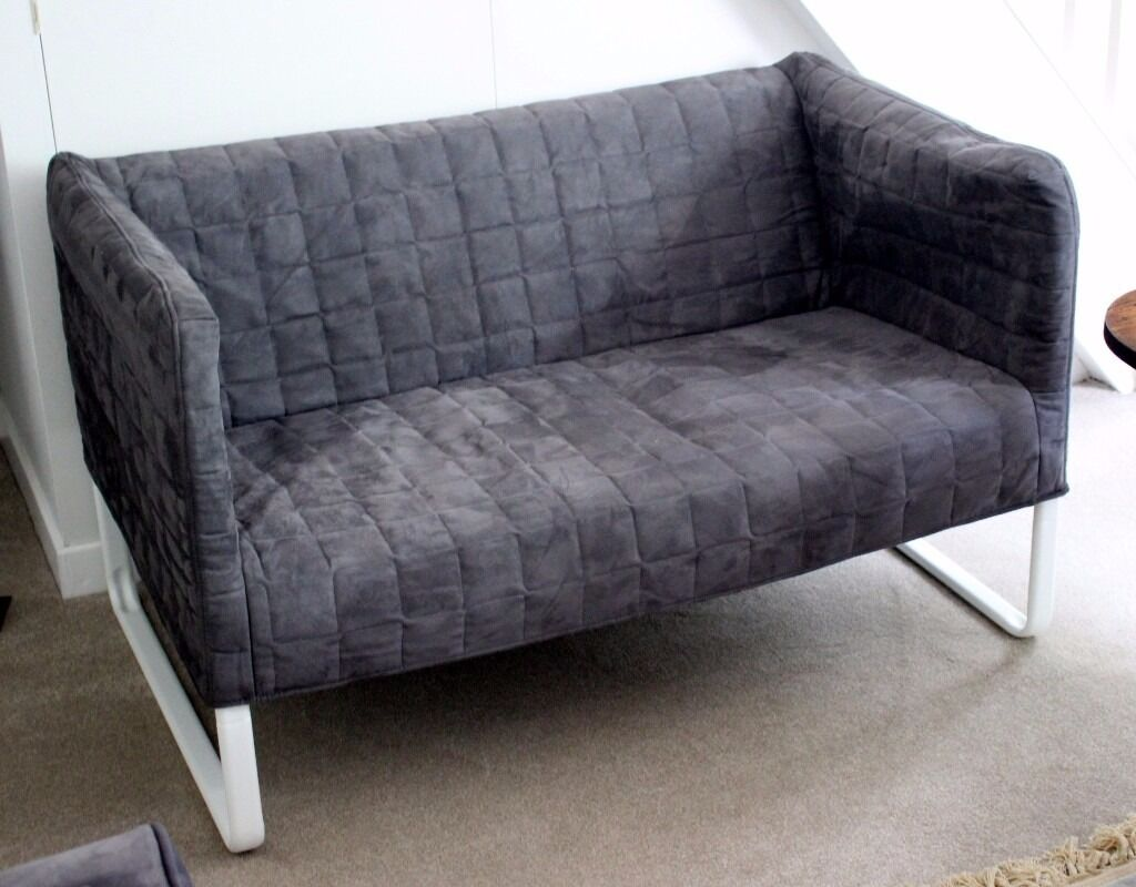 Delicieux Small Ikea Sofa. Tubular Framed With Removable Quilted And Padded Cover.  Lightweight And Hardly