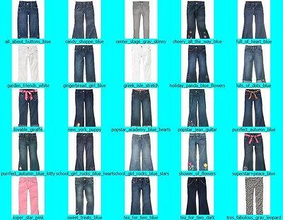 NWT Gymboree Girls Adjustable Waist Denim Jeans Pants FREE US SHIPPING NEW