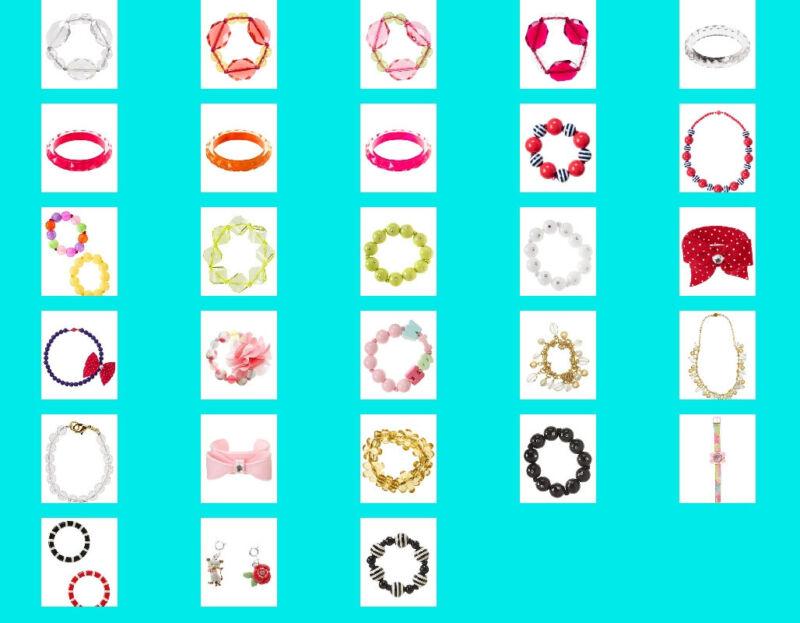 NWT GYMBOREE Kids Girls Jewelry Necklace Bracelet Watch NEW Accessories