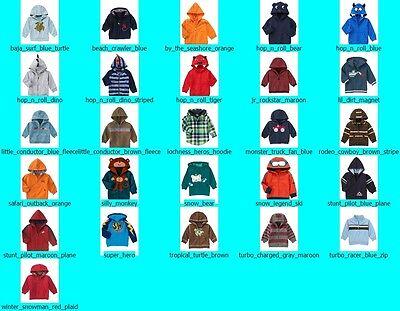 NWT Gymboree Baby Boy Boys Hoodie Sweatshirt Jacket Coat FREE US SHIPPING NEW