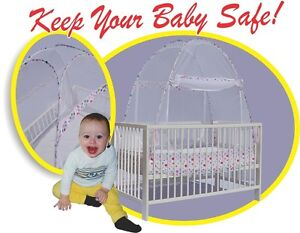 Toddler Crib Tent..Quality Tested & Safety Certified