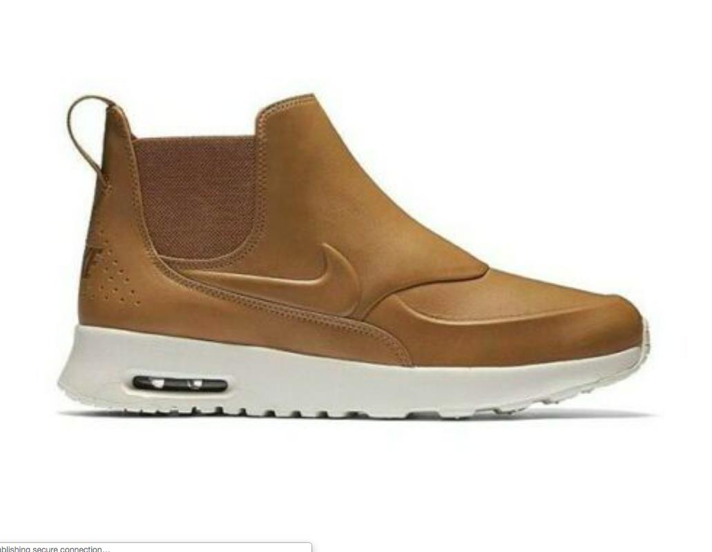 NIB NIKE AIR MAX THEA MID Women's Shoe 859550 200 Ale BrownSail ALL SIZES AUTHN