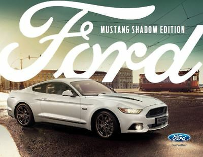 New Ford Mustang Shadow Edition, Limited Edition brochure - FREE POST!