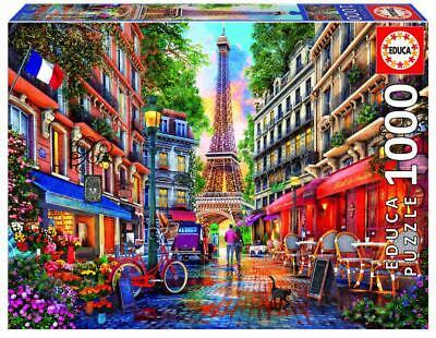 Puzzle Paris, Francia, de Dominic Davison, 1000 piezas, Educa 19019