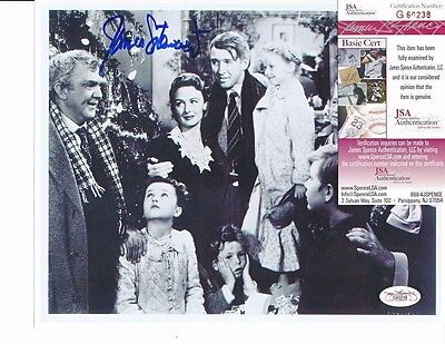 JAMES JIMMY STEWART SIGNED 8X10 PHOTO AUTOGRAPH JSA COA A WONDERFUL LIFE PH256