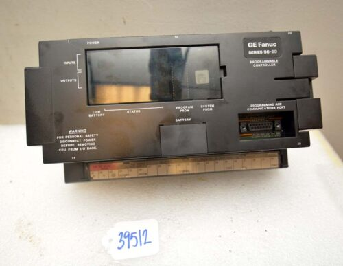 GE Fanuc Series 90-20 Programmable Controller (Inv.39512)