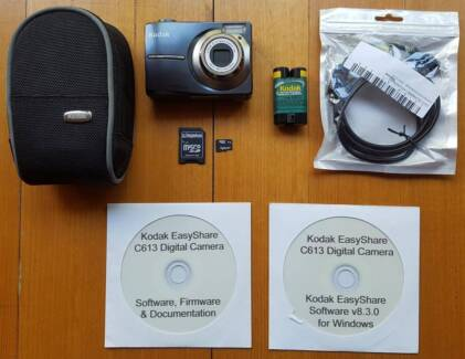 Kodak easyshare c613 6. 2mp 2. 4''screen 3x zoom digital camera.