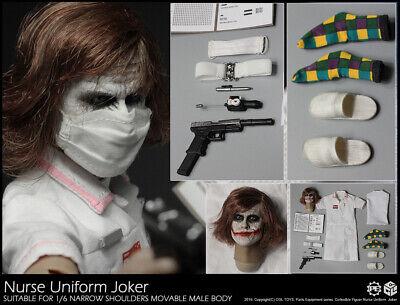 Pre-order 1/6 Scale CGL PE05 Joker Nurse Suit Custom Kit (No Body) - Joker Nurse