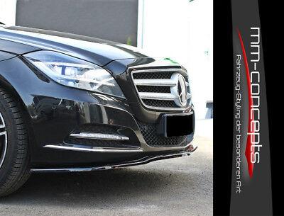 Cup Spoilerlippe für Mercedes Benz CLS W218 C218 Diffusor Schwert Lippe Spoiler