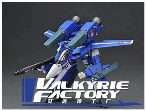 NEW Valkyrie Factory 1/60 Macross VF-1J  Maximilian Jenius Robotech Blue Ver. KO