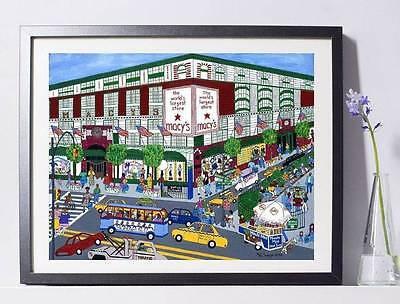 (Macy's NYC Art Reproduction 8x10