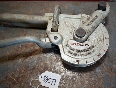Ridgid No. 358 Tube Bender Inv.38579
