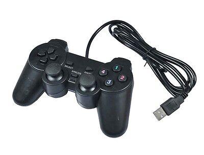Joypad Controller Joystick Gamepad Con Filo Compatibile Sony PS3 Nero mar