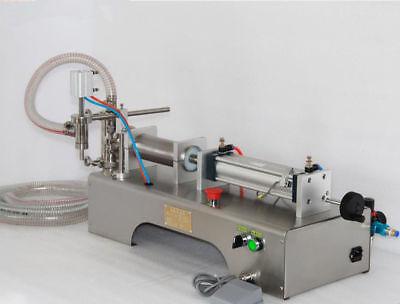 Single Piston Fillerliquid Filling Machine1 Bottle Capper1000ml Ce