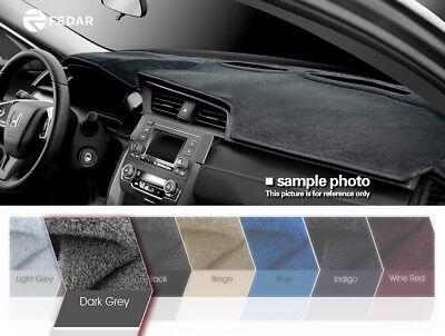 Fits 1998-2002 Dodge Ram 1500/2500/3500  Dashboard Mat Pad Dash Cover-Dark Grey
