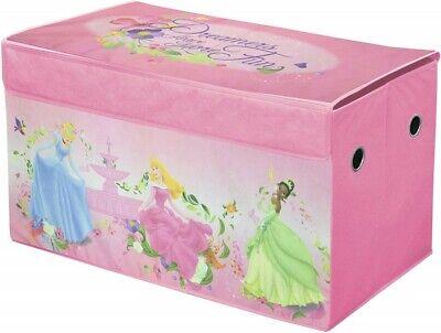 Disney Princess Dress Up Trunk for Girls Costume Clothes Room Storage Kids -