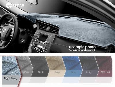 Light Grey Dash Cover Pad Dashboard Mat Fits 00-05 Buick LeSabre
