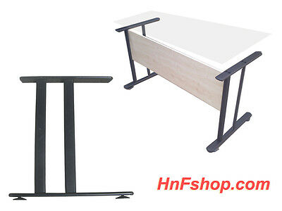 2pc/set H style black metal table legs for home/office desk, legs only for sale  Shipping to India