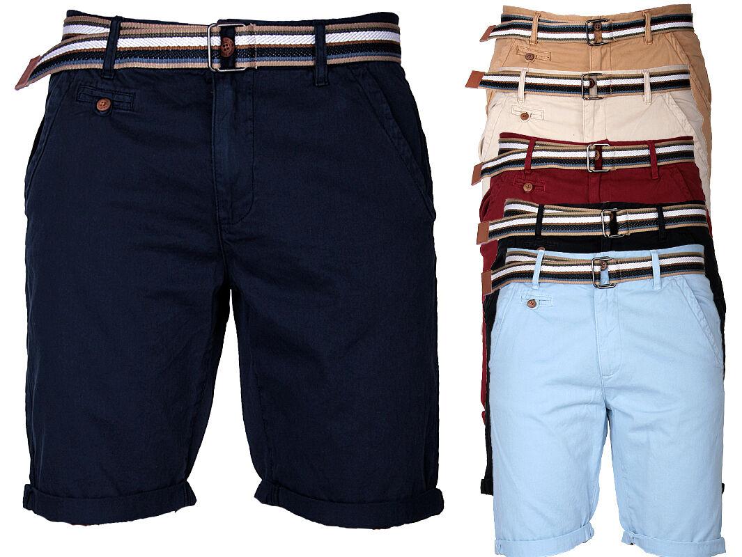 INDICODE Herren Chino Shorts Kurze Hose Short Bermuda Sommer Chinoshort stoff
