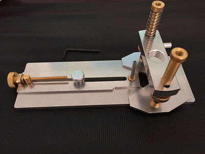 The Soundhole and Rosette Routing Jig is a quality machined tool