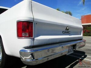Wanted c10 rear bumper