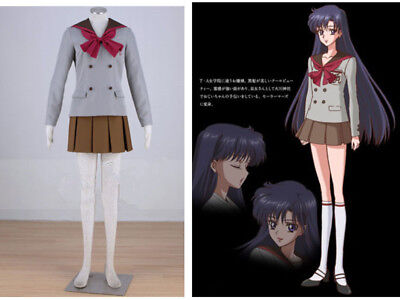 BEST PRICE* Sailor Moon Crystal Sailor Mars Hino Rei Cosplay