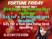 Fortune Friday/psychic promos for the summer