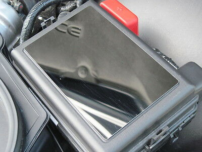 Pontiac Solstice  Saturn Sky All Models Fuse Box Cover   Mirror Stainless New