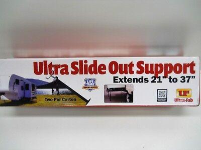 """(2) RV Camper Motor Home Trailer SlideOut Adjustable Stabilizer Jack Stands /37"""""""