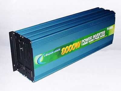 16000w peak 8000w Power Inverter DC 12V to AC 110V Car Power Tool-1