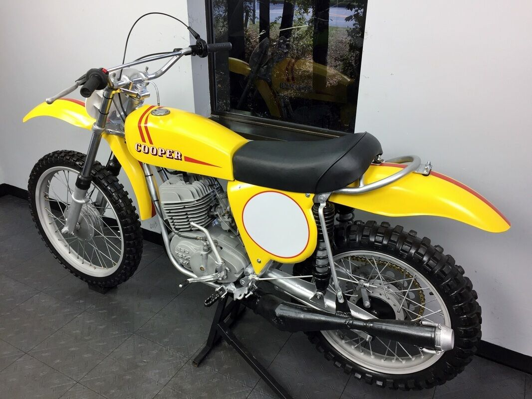 1974 Other Makes Cooper  1974 Cooper 250 MX - Rare find! Must for the vintage collector! CZ Maico