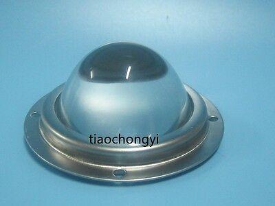 66mm Led Lensstainless Steel Ringsilicone Ring 3 Set Series For 20w -100w Led