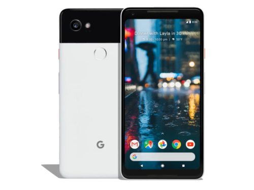 Android Phone - Google Pixel 2 - 128GB White 4GB RAM - Android Mobile Phone Refurbished